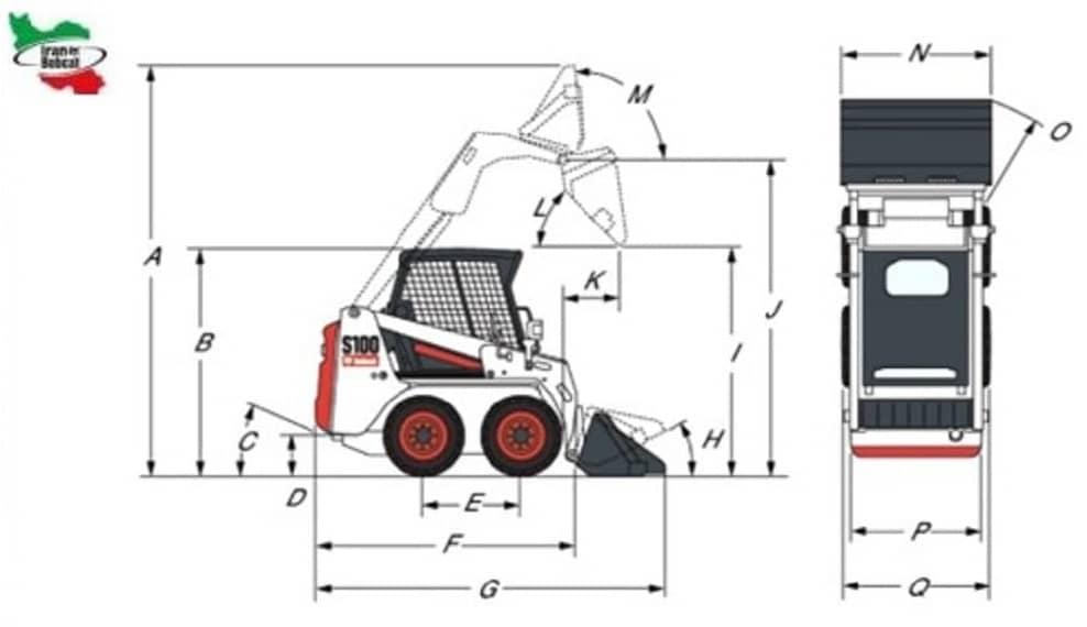 Skid Loader Bobcat S100