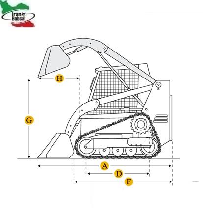 Bobcat T140 Compact Track Loader