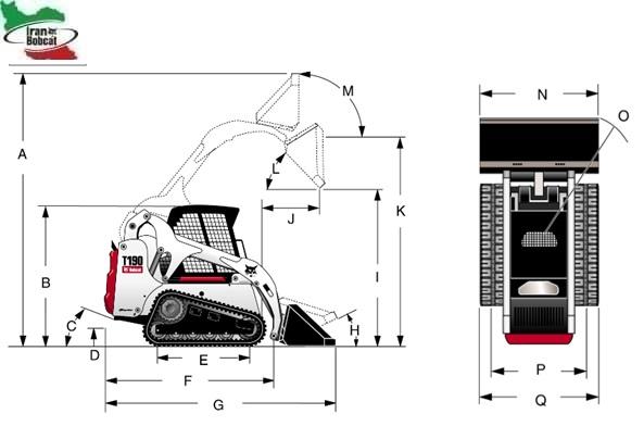 Bobcat T190 Compact Track Loader