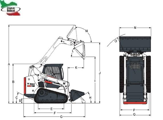 Bobcat T62 Compact Track Loader